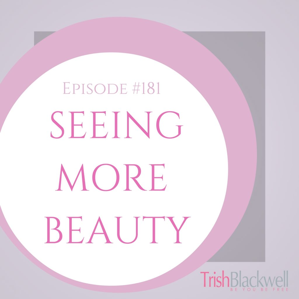 #181: SEEING MORE BEAUTY