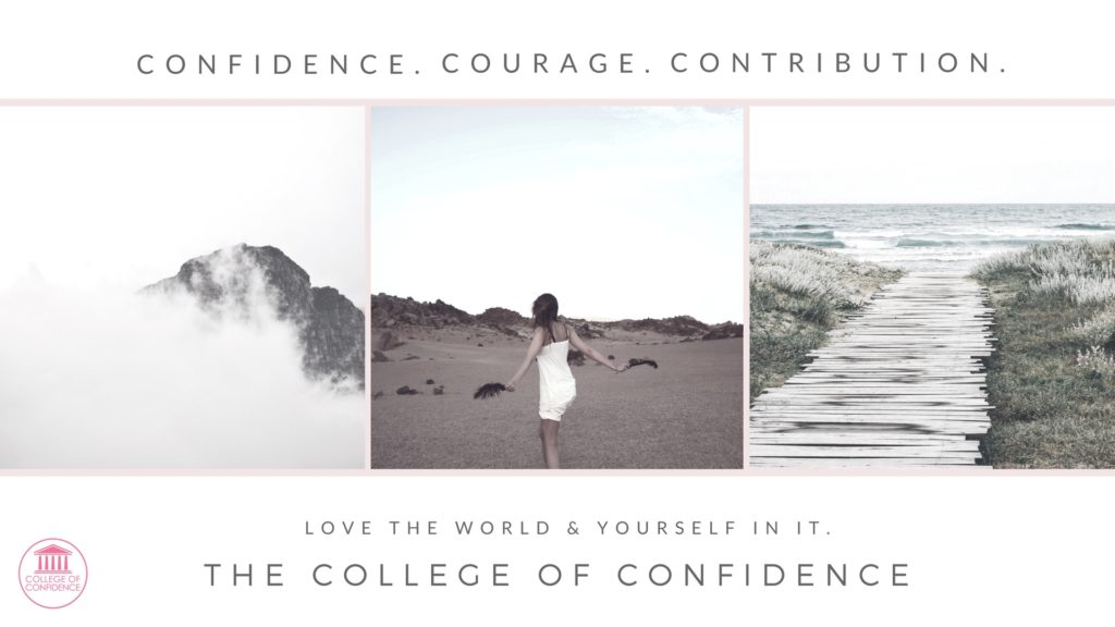 confidence coaching to improve your confidence, courage and contribution. confidence coach. group coaching. discounted coaching options for confidence.