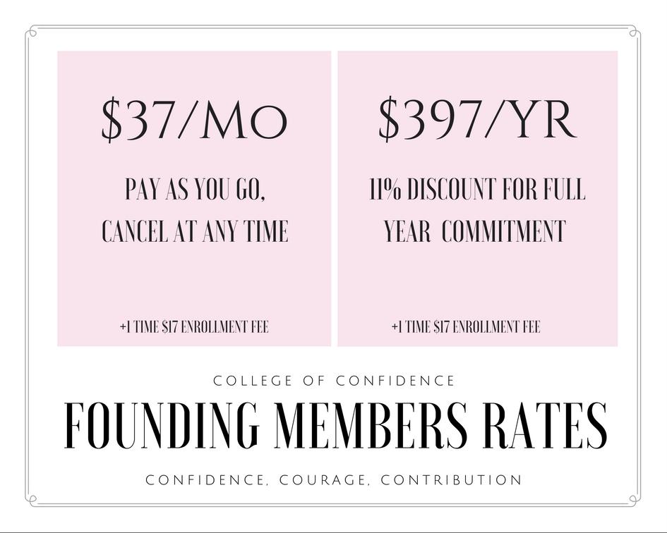 confidence coaching discounted coaching