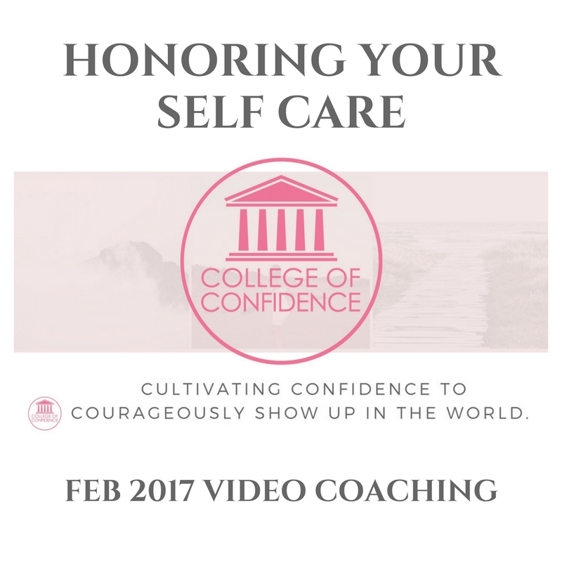 HONORING YOUR SELF-CARE