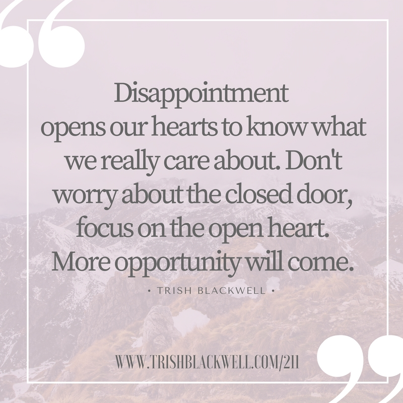 4 positive ways to deal with disappointment