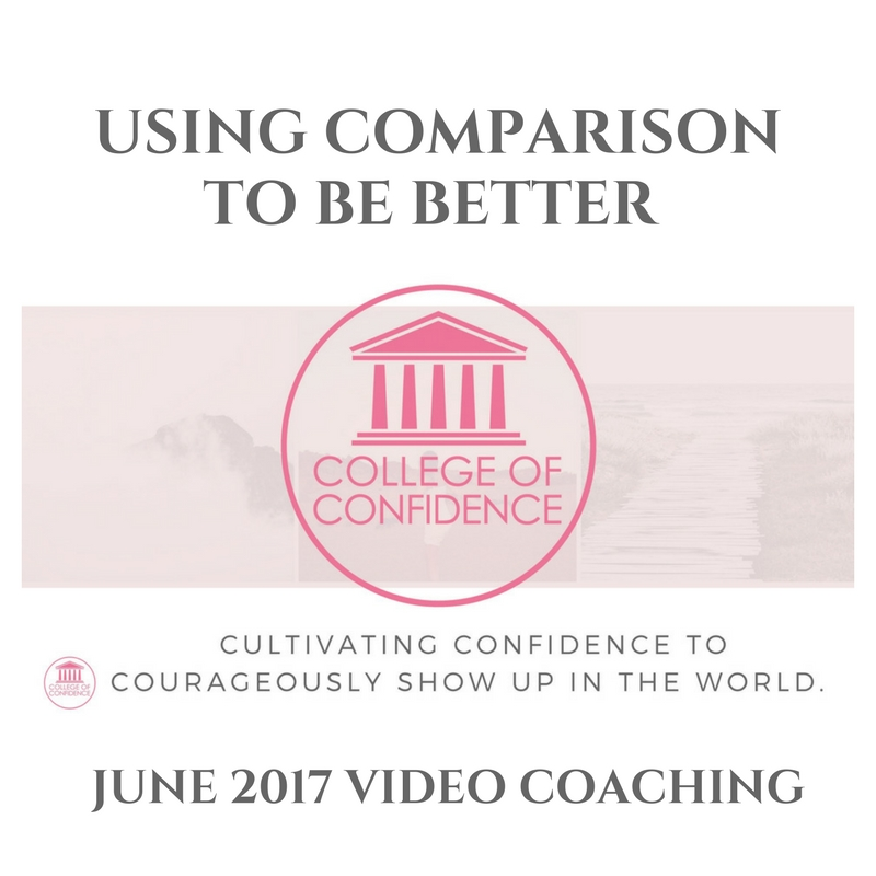USING COMPARISON TO MAKE YOURSELF BETTER