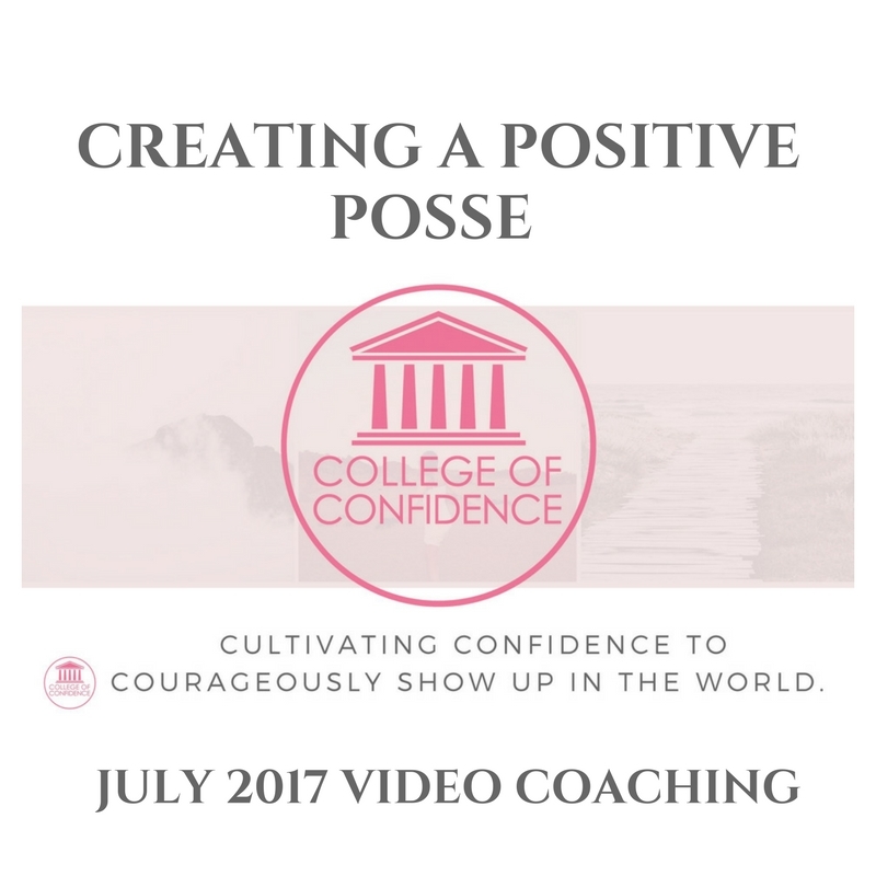 CREATING A POSITIVE POSSE