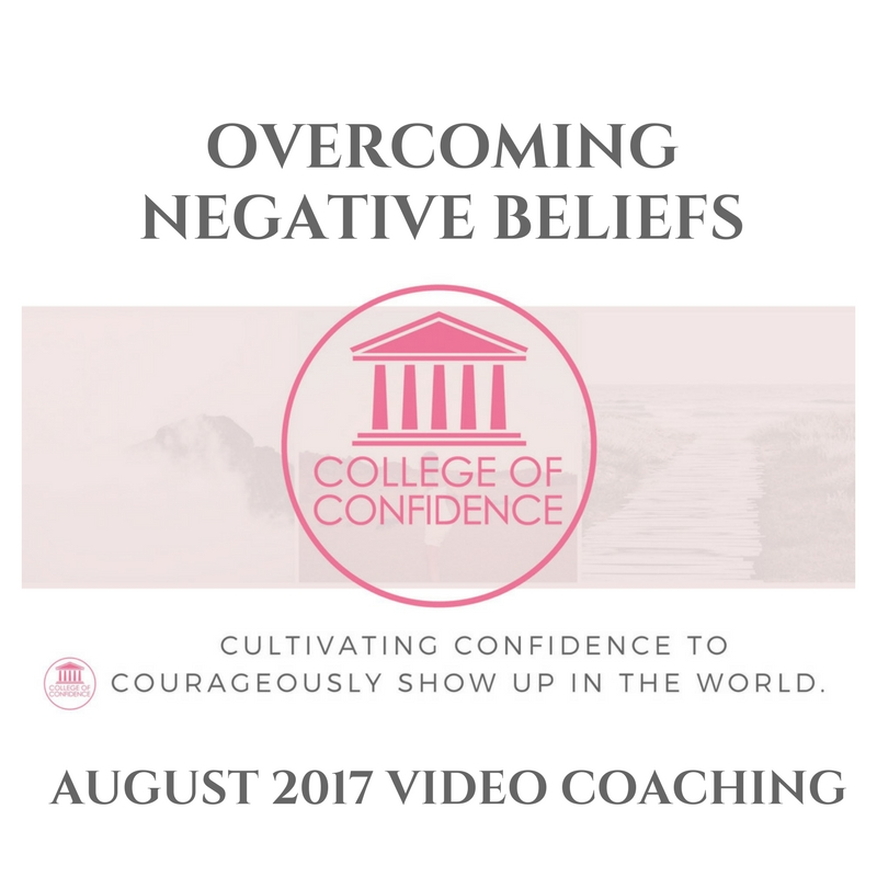 OVERCOMING NEGATIVE BELIEFS