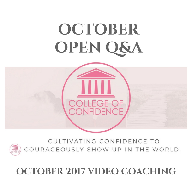 OCTOBER OPEN Q&A