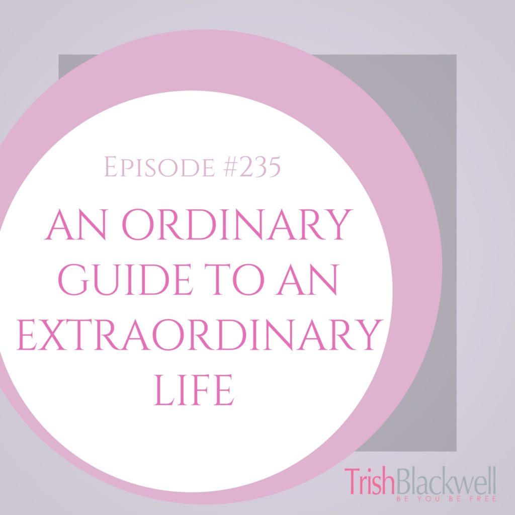 #235: AN ORDINARY GUIDE TO LIVING AN EXTRAORDINARY LIFE