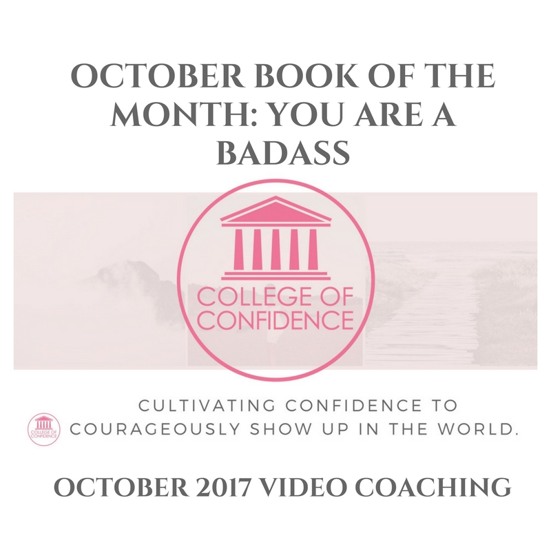 OCTOBER BOOK OF THE MONTH: YOU ARE A BADASS