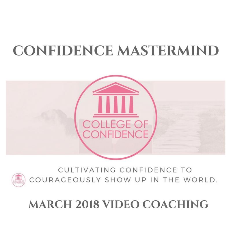 CONFIDENCE MASTERMIND MARCH 2018
