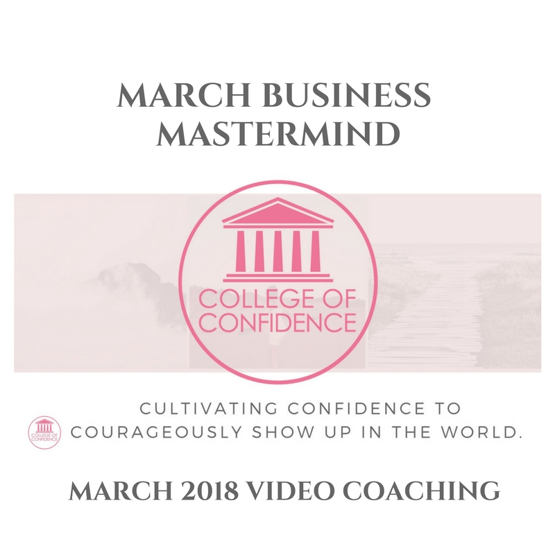 MARCH BUSINESS MASTERMIND