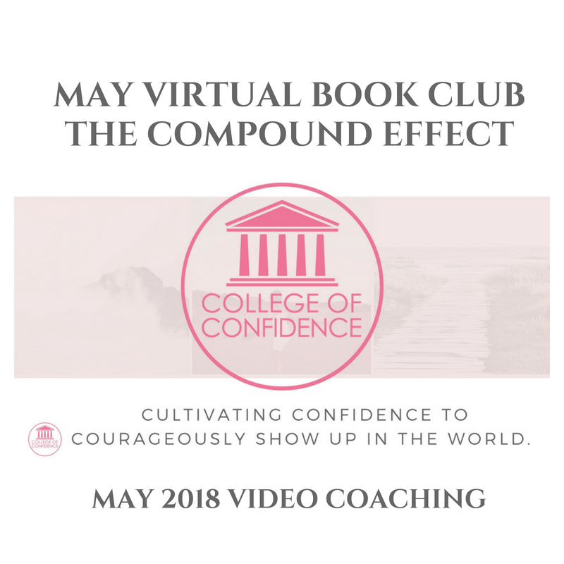 MAY VIRTUAL BOOK CLUB  / THE COMPOUND EFFECT