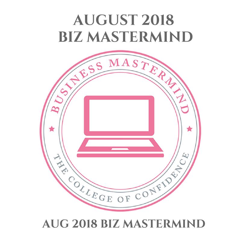 AUGUST 2018 BUSINESS MASTERMIND