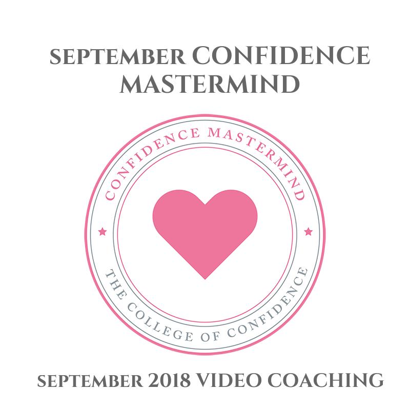 SEPTEMBER 2018 CONFIDENCE MASTERMIND