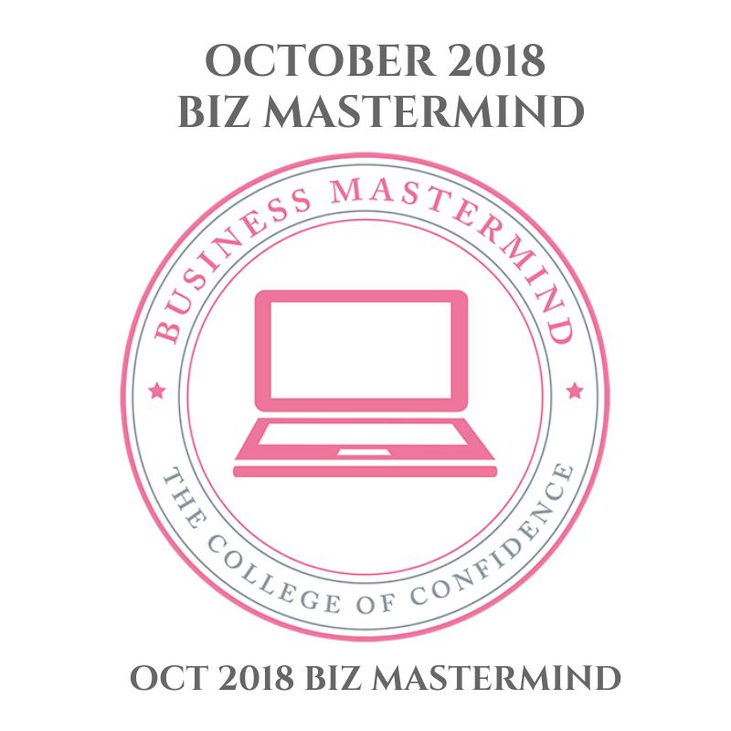 OCTOBER BIZ MASTERMIND 2018