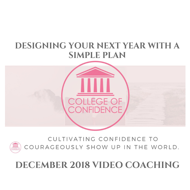 DESIGNING YOUR NEXT YEAR WITH A SIMPLE PLAN