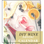 HOW TO MAKE YOUR OWN WINE ADVENT CALENDAR