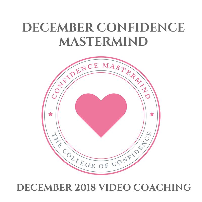 DECEMBER 2018 CONFIDENCE MASTERMIND