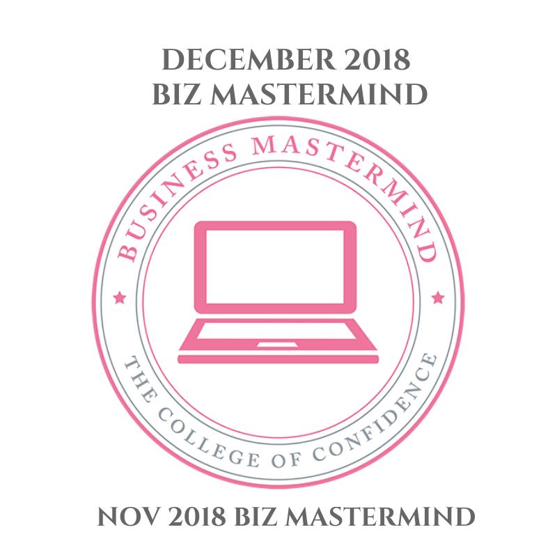 DECEMBER BIZ MASTERMIND 2018