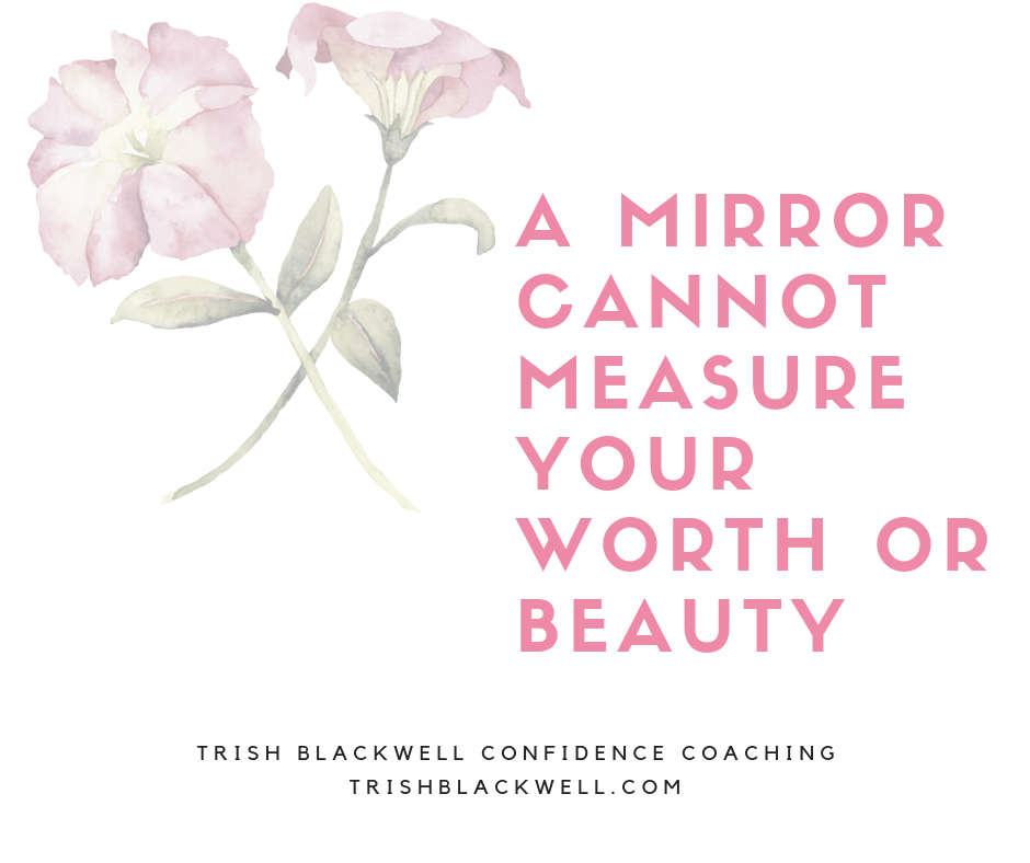 how to see yourself in a mirror
